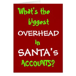 Cuentas de Santa - nuevo chiste del navidad