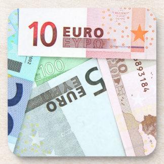 Cuentas euro posavasos