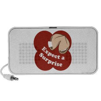 Cuente con una sorpresa iPod altavoces