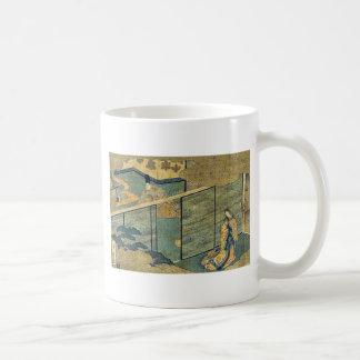 Cuento de Genji por Ando, Hiroshige Taza De Café
