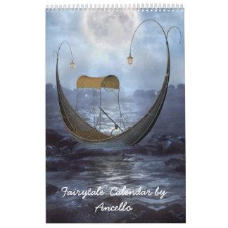 cuento de hadas calendarios