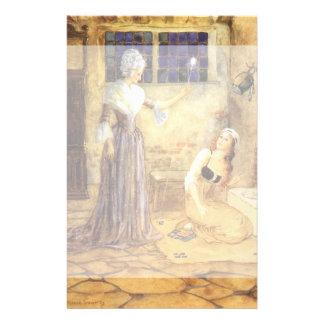 Cuento de hadas, Cenicienta y hada madrina del Papeleria