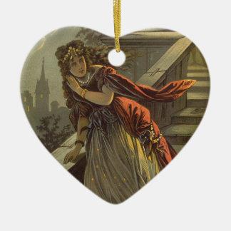 Cuento de hadas de Cenicienta del Victorian del vi Ornamento De Navidad