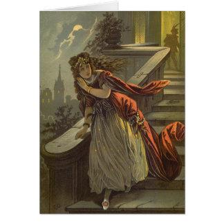 Cuento de hadas de Cenicienta del Victorian del vi Tarjeta