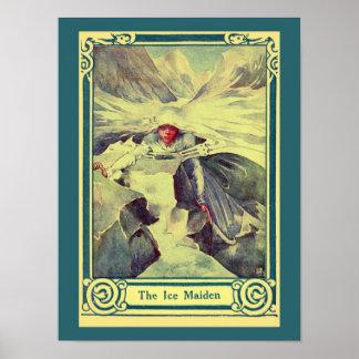 Cuento de hadas de H.C. Andersen del vintage la do Posters
