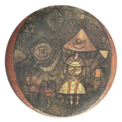 Cuento de hadas de Paul Klee- del enano Plato De Comida