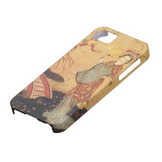 Cuento de hadas de princesa Badoura del vintage E iPhone 5 Protector