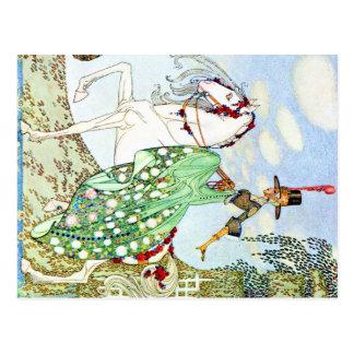 Cuento de hadas de princesa Minotte de Kay Nielsen Tarjetas Postales