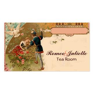 Cuento de hadas de Romeo Juliet de la bella Tarjeta De Visita