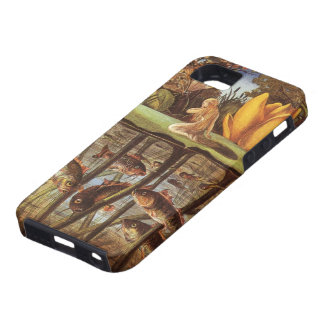 Cuento de hadas de Thumbelina del vintage; Eleanor iPhone 5 Case-Mate Cobertura
