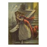 Cuento de hadas del Victorian del vintage, Comunicado Personalizado