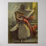 Cuento de hadas del Victorian del vintage, Impresiones