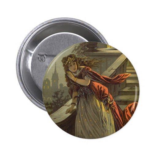 Cuento de hadas del Victorian del vintage, Pins
