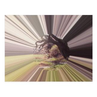 Cuento de hadas en violeta postales