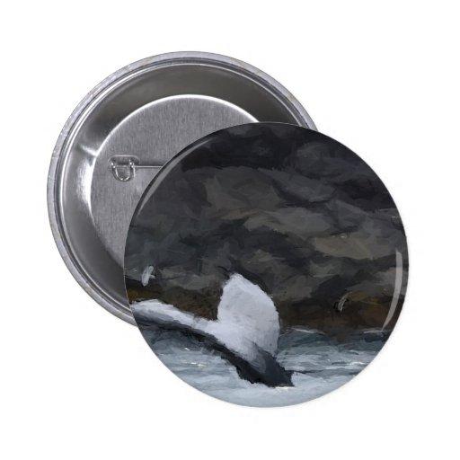 Cuento de la ballena pin redondo 5 cm