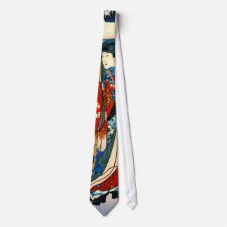 Cuento de la derecha de Genji 1853 Corbata