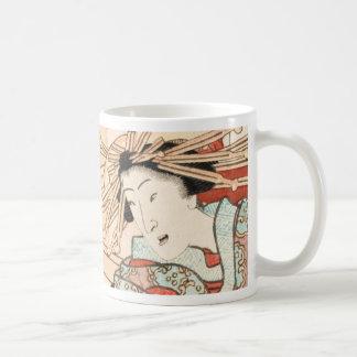 Cuento de la taza de Shiratama de la cortesana