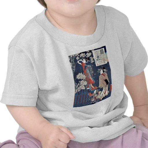 Cuento de Wakamurasaki de la cortesana por Utagawa Camisetas