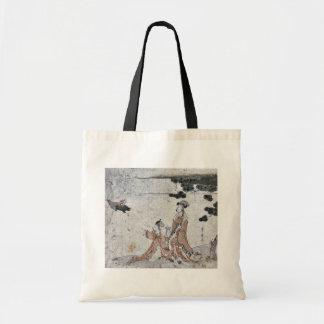 Cuento del hígado del mono por Utagawa, Toyohiro Bolsa Tela Barata