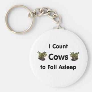 Cuento vacas para caerme dormido llavero