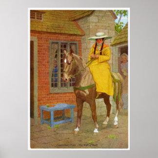 Cuentos de Cantorbery - la esposa del baño Póster