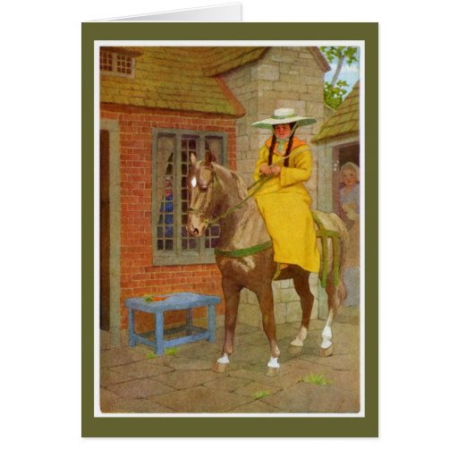 Cuentos de Cantorbery - la esposa del baño Tarjeta De Felicitación