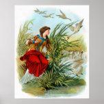 Cuentos de hadas clásicos - los cisnes salvajes poster