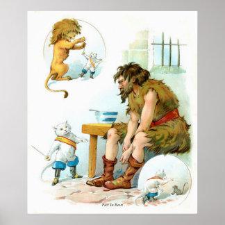 Cuentos de hadas clásicos - Puss en botas Poster