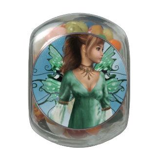 Cuentos de hadas frascos de cristal