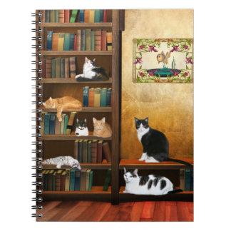 Cuentos del gato spiral notebooks