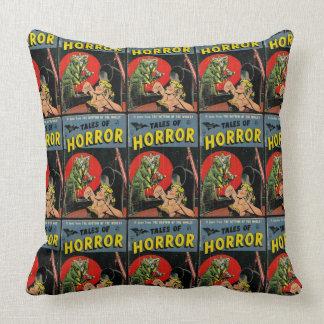 Cuentos del horror cómicos cojín