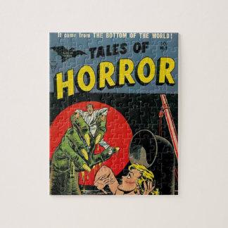 Cuentos del horror cómicos rompecabezas