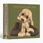 """Cuentos del perro de perrito 1,5"""" carpeta"""