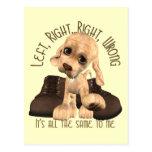 Cuentos del perro de perrito tarjeta postal