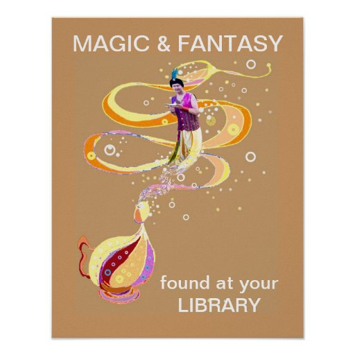 Cuentos mágicos póster