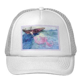 Cuentos populares de la bella arte del vintage del gorras de camionero