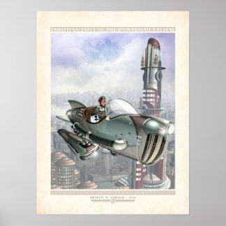 Cuentos que emocionan: Gwen en su Hepmobile (18x24 Posters