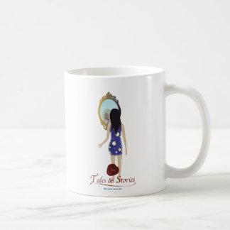 Cuentos y carácter de las historias tazas de café