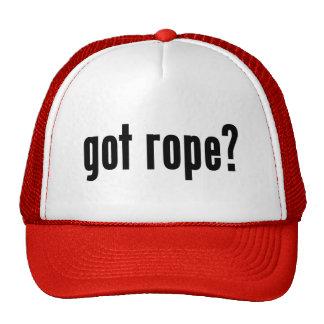 ¿cuerda conseguida? gorras de camionero