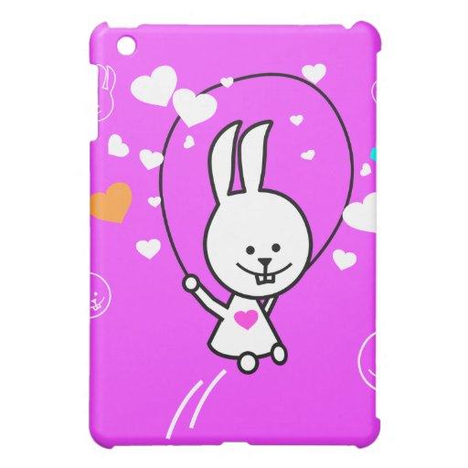 Cuerda de salto del conejo del dibujo animado - ro