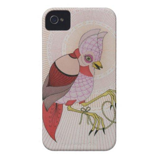 cuerda del pájaro iPhone 4 Case-Mate carcasas