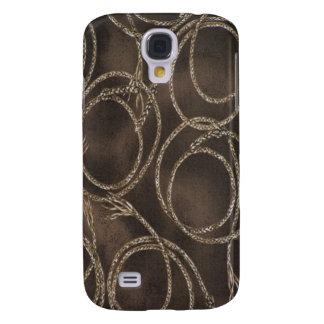 Cuerda occidental Brown 3G/3GS Samsung Galaxy S4 Cover