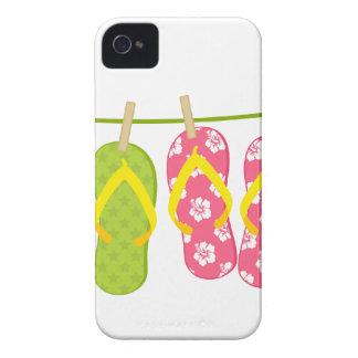 Cuerda para tender la ropa de los balanceos Case-Mate iPhone 4 fundas