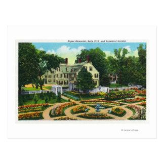 Cuerdas conmemorativas y opinión de jardines postales