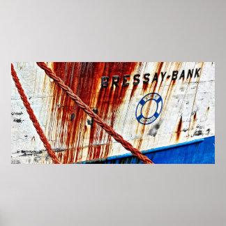 cuerdas y oxidado poster