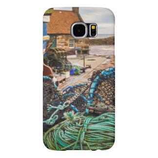 Cuerdas y potes de langosta el | Pittenweem, Funda Samsung Galaxy S6