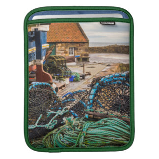 Cuerdas y potes de langosta el | Pittenweem, Fundas Para iPads