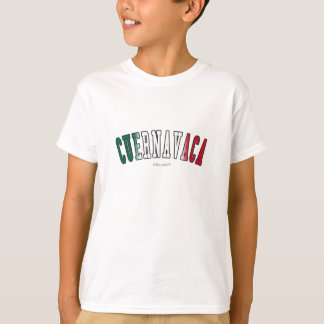 Cuernavaca in Mexico national flag colors T-Shirt