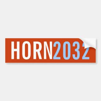 Cuerno 2032 etiqueta de parachoque