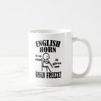Cuerno inglés, helada del cerebro taza clásica
